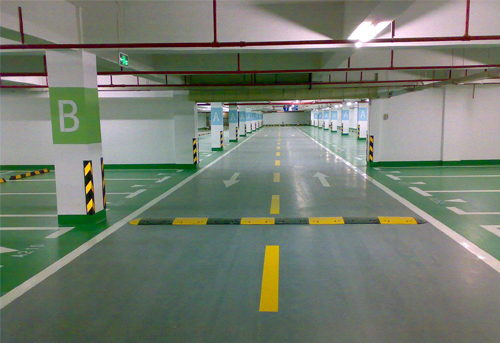 西安停车场划线