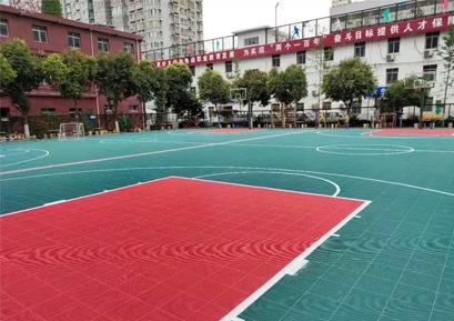 航天第五小学篮球场项目